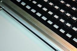 Schleppnetz mit Alu-Profil doppellagig schweres Gewebe 2,00 m x 0,75 m
