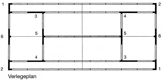 Linien-Element gerade 2,50 m inkl. T-Verbinder