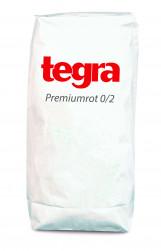 Premiumrot 0/2 mm gesackt