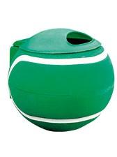 Abfallbehälter Ballform, grün