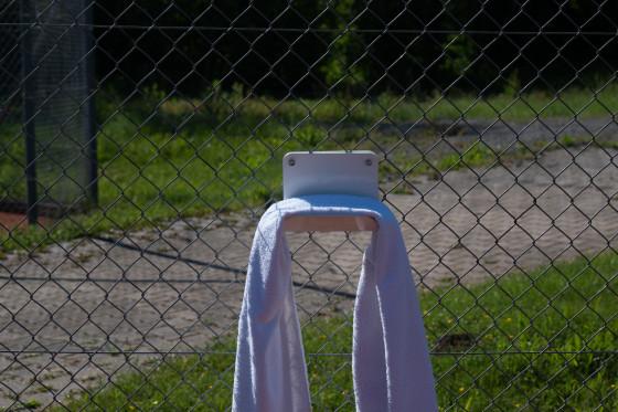 Handtuchhalter Tennis
