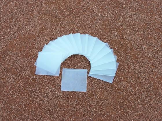 Ersatzblätter für Linienkehrmaschine