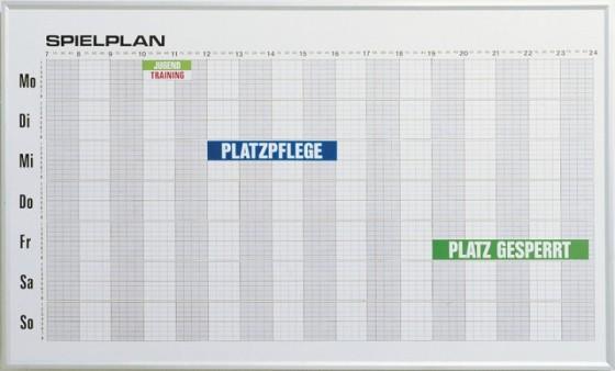 Wochenbelegungsplan