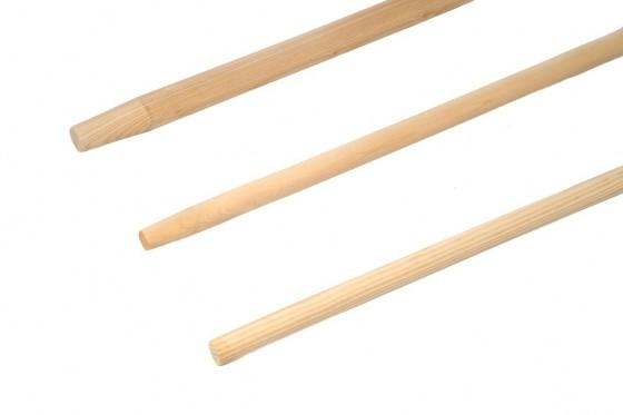 Holzstiel 32 mm, Länge 1,70 m mit Konus 29 mm