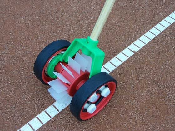 Bügel für Linienkehrmaschine