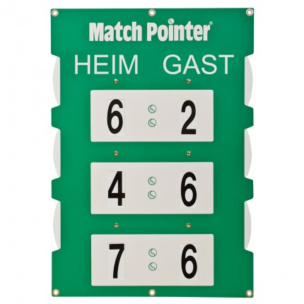 Match-Pointer Größe S mit Zaunbefestigung, Maße 35 x 50 cm