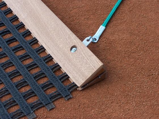 Schleppnetz-Profile, Holz inkl. Schrauben